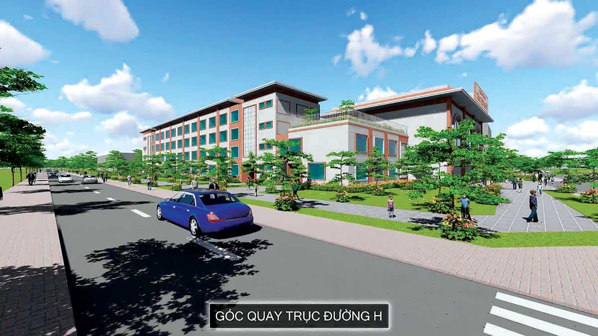 trường học tại dự án qi island bình dương
