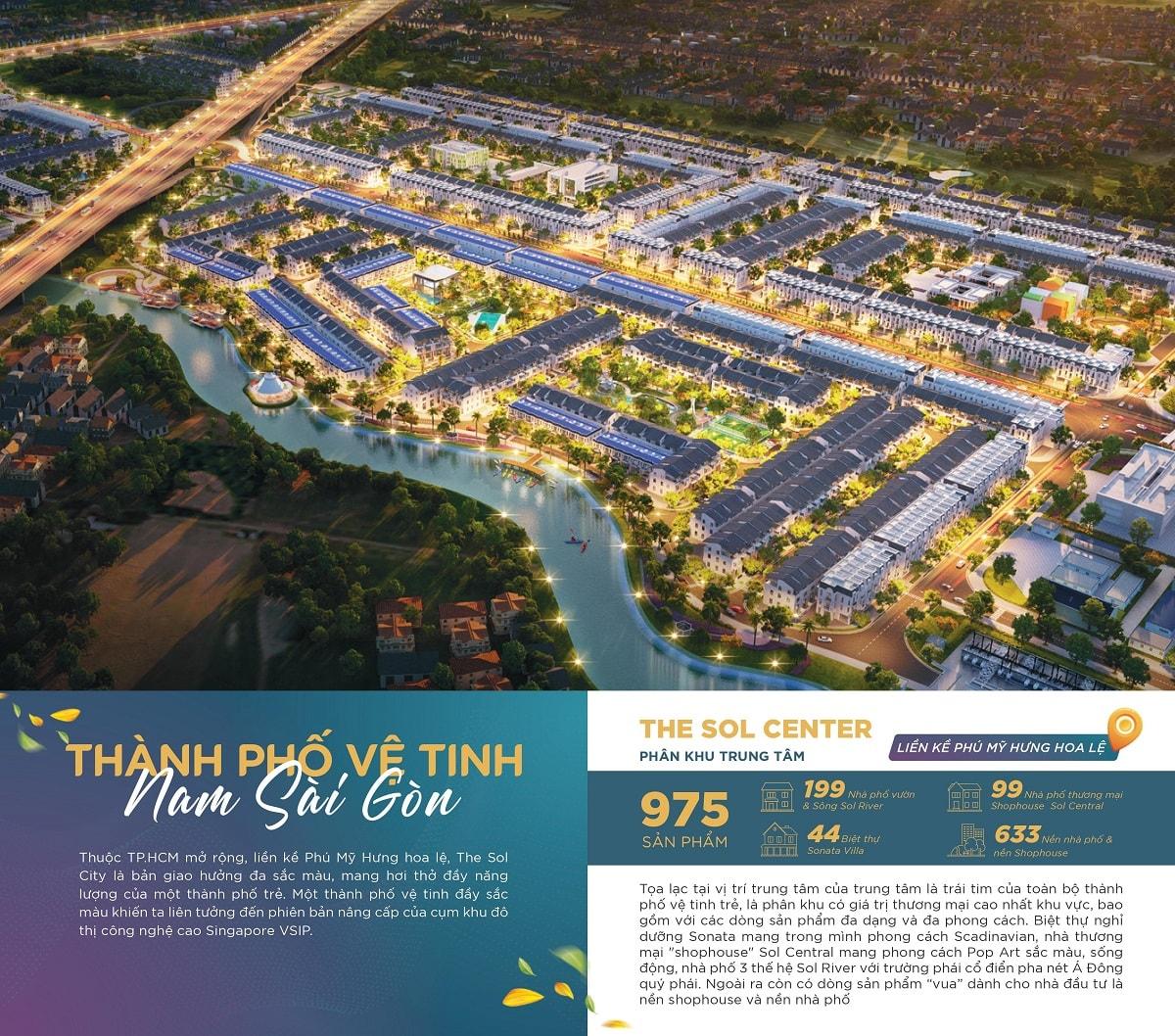 Khu Đô Thị The Sol City Nam Sài Gòn Thắng Lợi Group