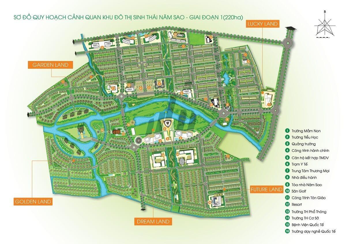 Five Star Eco City Đinh Đức Thiện Long An
